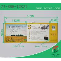 RFID folding ticket ( Product model: ZT-SRB-TCK27) Manufactures