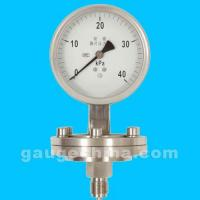 Stainless Steel Corrision Diaphragm Gauge Manufactures
