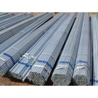 Round Seamless Galvanized Tube / ASTM A106 Steel Pipe For Hydraulic Manufactures