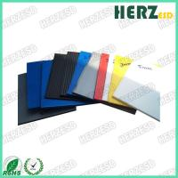 China Customized Size ESD Cardboard Sheets , Hollow Recyclable Corrugated Plastic Sheets on sale
