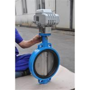 China Electric butterfly valve, wafer type butterfly valve on sale