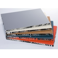 China Custom Made Ultra Thin Aluminium Honeycomb Roof Panel For Office Building on sale