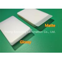 Buy cheap Protective Matte Lamination Film Business Card Size Laminating Pouches 250 Micron from wholesalers