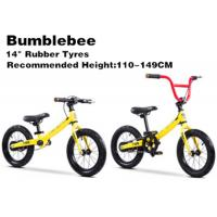 China 14  High Quality  High Carbon Steel 2in1 Kids Balance Bike With Pedal BMX Bicycle for 2-12 Years Yellow on sale