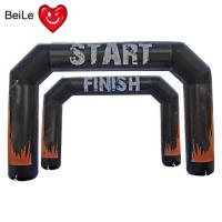 Buy cheap Cheap inflatable entrance and finish arch for marathon from wholesalers
