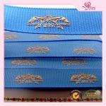 100 yards each roll 1 Inch Blue grosgrain christmas wrapping ribbon