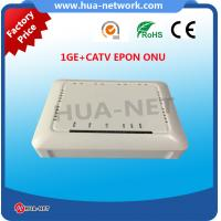 Quality HZW-E801-T ONU EPON 1GE+CATV EPON ONU with high quality from HUANET for sale