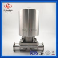 China 3/8 Mini Pneumatic Operated Diaphragm Valve Male Thread With Actuator on sale