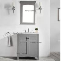 Rust - Prevention Marble Bathroom Vanity , 30mm Thickness Marble Bath Vanity Manufactures