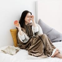 Super long Lazy blanket shawl blanket thickened multi-functional blanket air conditioning single office nap blanket Manufactures
