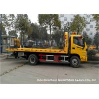 FOTON AUMARK 4 Ton Flat Bed Breakdown Recovery Truck Road Wrecker Manufactures
