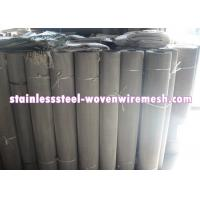Mesh 7 - 500 Stainless Steel Filter Screen , Customized Stainless Steel Mesh In Roll Manufactures