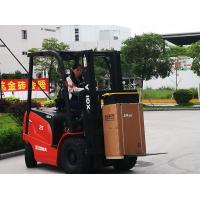 2.5 Ton Electric Forklift Truck With 3 Stage 4.5m Container Mast Compact Structure Manufactures