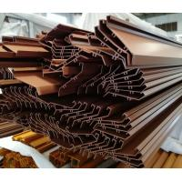 China Factory aluminium profile for stairs bronze anodizing large size with competitive price