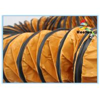 Industrial High Temperature Exhaust Hose Flexible PVC Environmental Friendly Manufactures