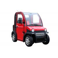 Four Wheels Electric Vehicle Car , 60V 2800W 2 Passenger Automatic Electric Car Manufactures
