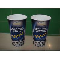 Quality 20oz Soda Cold Drink Paper Cups With Lids , Take Away Cardboard Coffee Cups for sale