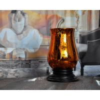 glass candle holder,hot selling hand-made silver plating glass candlestick Manufactures