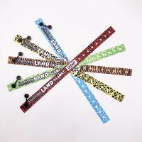 Custom Fabric Sublimation Wristbands Satin Wristband With Plastic Clip Manufactures