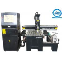 China Cnc Router Wood Carving Machine 4 Axis 6090 With Rotary Price on sale