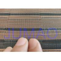 Black And Copper Color Glass Laminated Metal Mesh Fabric With Images Manufactures