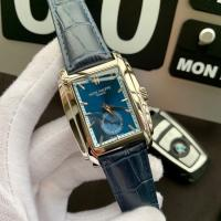China Patek Philippe Gondolo Blue Leather Strap Blue Dial Replica Watch Patek Philippe men's watch on sale