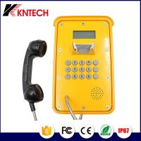 Weatherproof Telephone Voip telephone Industrial Telephone with LCD display For Mine Use hotline KNSP-16 Manufactures