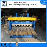 Galvanized Plate Cold Roll Forming Machine For Container Panel ISO Approval Manufactures