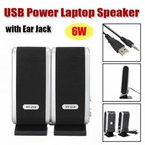 3W * 2 USB2.0 Power 3.5mm Wireless Bookshelf Speakers With Ear Jack / Microphone