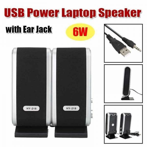 Quality 3W * 2 USB2.0 Power 3.5mm Wireless Bookshelf Speakers With Ear Jack / Microphone for sale