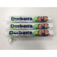 Buy cheap ABL Laminated Toothpaste Tube with AL Barrier / 7 Colors Printing / Fez Cap D28*165mm from wholesalers