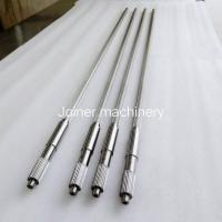 Twin Screw Shaft Plastic Extruder Screw Design Extruder Screw Parts DH2F Material Manufactures