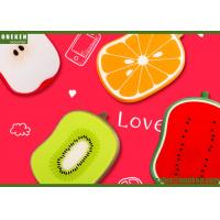 Customized Cute  4000mAh KIWI Fruit Power Bank With Fast Charging 109x74x20mm Manufactures