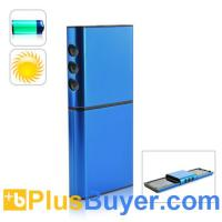 China Solar Charger and Battery for Cell Phones and USB Device (Dual Charging Panels) on sale