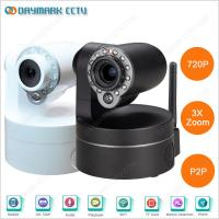 Home Indoor 3X Optical Zoom Lens Wireless IP PTZ Camera with IR-Cut Manufactures