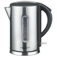 China 1.7L stainless steel cordless electric kettle with large open mouth ,with water window on sale