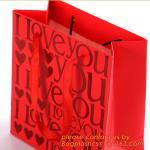 Luxury custom logo printed brown paper carrier bag,CMYK printed shopping bag