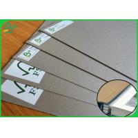 China 1.5MM 2.0MM Thickness Grey Cardboard Sheet For Album Raw Material on sale