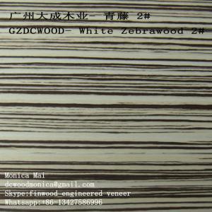 0.5mm finwood zebra veneers Manufactures