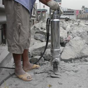China Diesel Handheld Hydraulic Demolition Hammer / Hydraulic Concrete Breaker Machine on sale