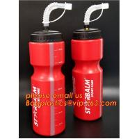 500ml BPA Free TPU Plastic Collapsible Foldable Soft Flask Sports Running Bicycle Water Bottle with Straw Manufactures