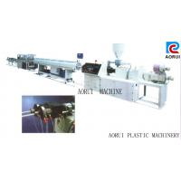 China Carbon Spiral Reinforcing Plastic Pipe Extrusion Line , PE Pipe Plastic Extrusion Machine on sale