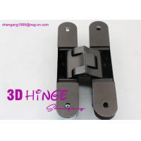 Concealed Invisible Door Hinges Satin Nickel Finish For Heavy Internal Doors Manufactures