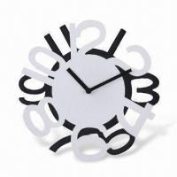 11.5 Inches Polyresin Wall Clock, Operated by 1 x AA Battery (Not Included) Manufactures