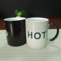 Souvenir gift  COLD HOT heat sensitive color changing mugs stocked Manufactures