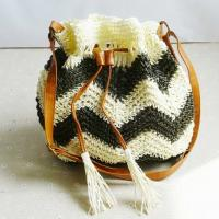 color collision women straw shoulder bags 80281 Manufactures