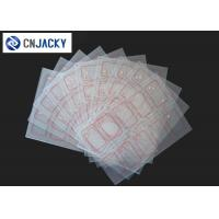 2 * 5 / 3 * 8 Layout Clear Transparent Smart Card Inlay Manufactures