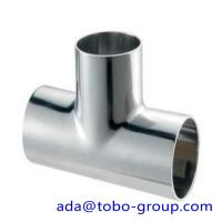 Super duplex uns s32750 Stainless Steel Tee 1 - 48 inch ASME B16.9 Manufactures