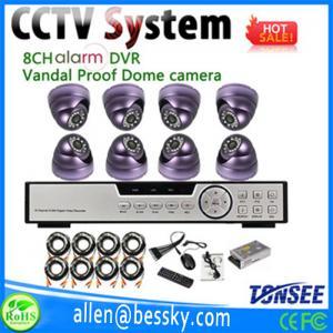 Factory Direct H.264 4CH DVR Combo DIY CCTV Camera Kit-DR01,cctv security system kit Manufactures