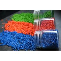 China No Toxicity Plastic Color Masterbatch , Plastic Raw Material Stable Performance on sale